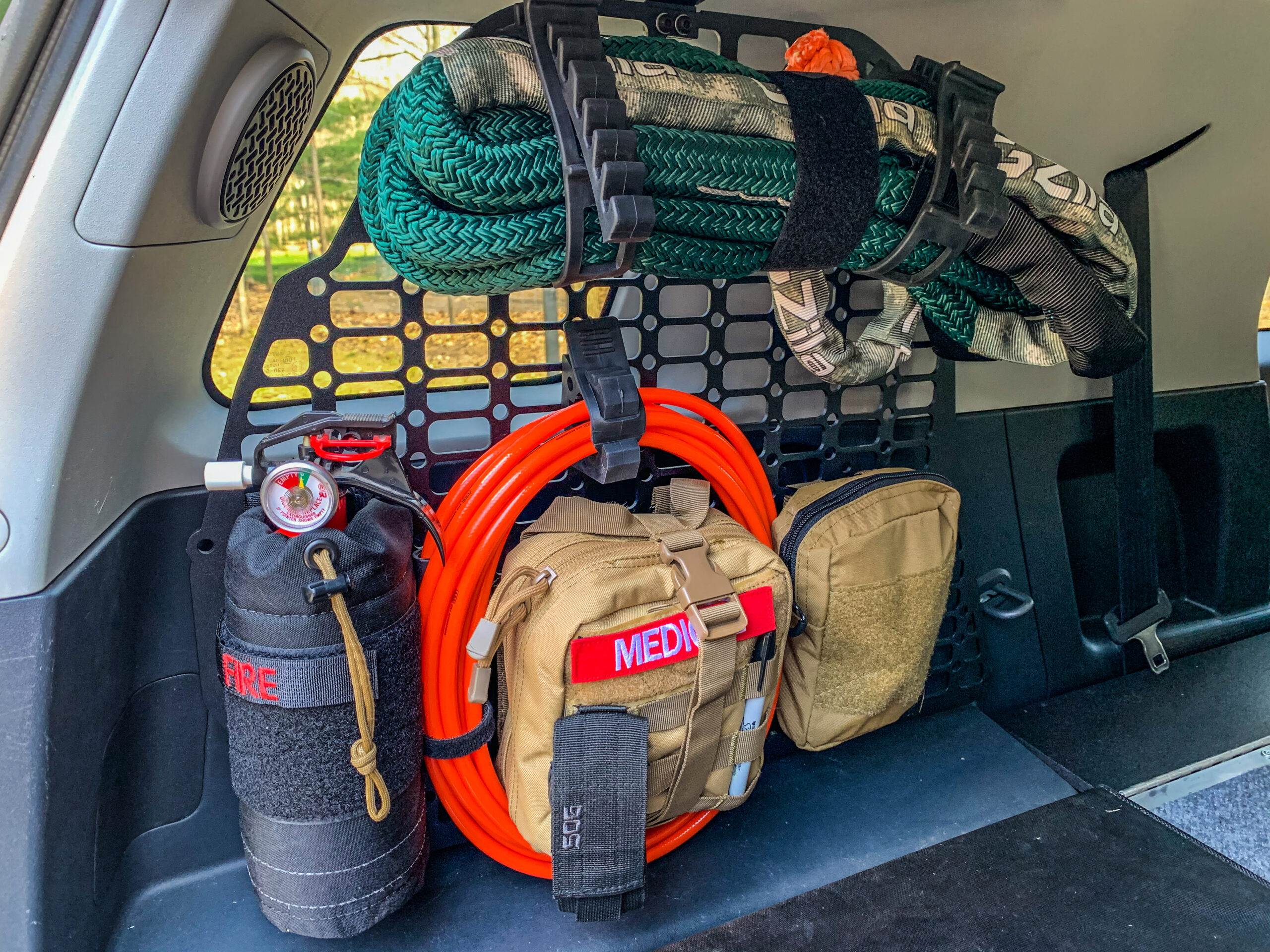 Orange Boxx Fabrication Storage Solutions For The Fj Cruiser The Gear Bunker